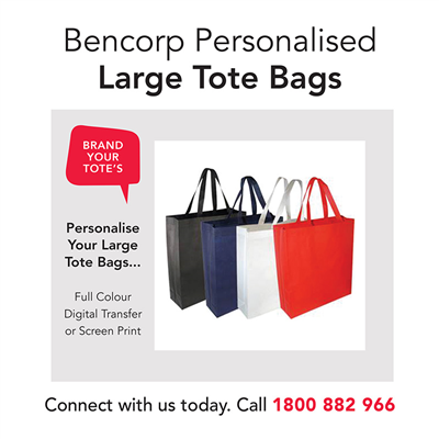 (SKU: TOTE) Large Tote Bags - Personalised