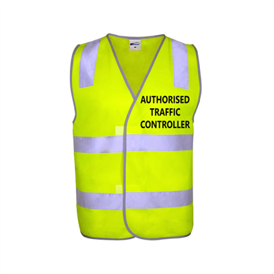 (SKU: AS1107) NSW TRAFFIC CONTROLLER VEST