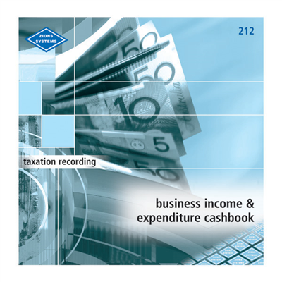 (SKU: 212) Cashbook - Business Income & Expenditure Cashbook