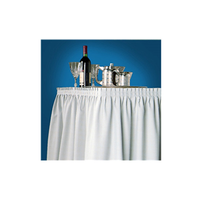 (SKU: SKLG) Lightly Gathered Table Skirting