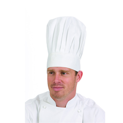 (SKU: 1601) Traditional Chef Hat