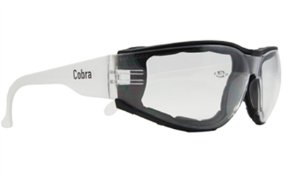 (SKU: COBPOS) Cobra Positive Seal Safety Glasses-Anti Fog