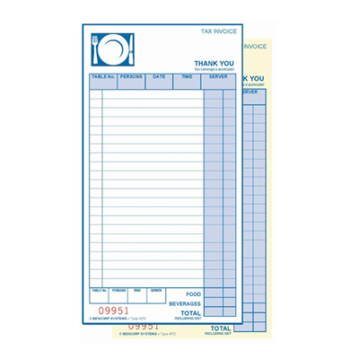 (SKU: APD) All Purpose Duplicate Docket Book (Pack of 50)