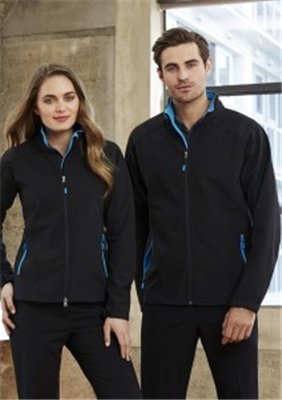 (SKU: J307L) Geneva Ladies Softshell Jacket