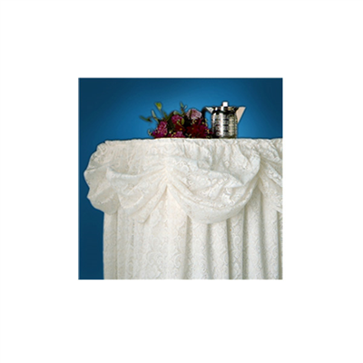 (SKU: SKBW) Lace Table Skirting - No Valance