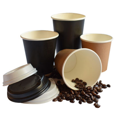 (SKU: 101599) 12oz Single Wall Coffee Cups
