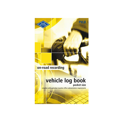 (SKU: PVLB) Vehicle Log Book