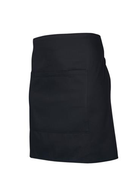 (SKU: BA94) Black Short Waisted Apron