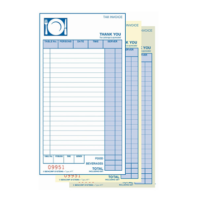 (SKU: APT50) All Purpose Triplicate Docket Book - 50 Sets (Pack of 50)