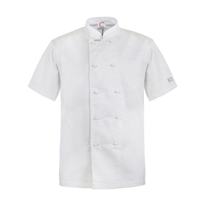 (SKU: CJ033) Classic Chef's Jacket- Short Sleeve