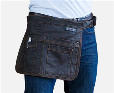 (SKU: AC-POUCH02) Barber Utility Pouch Waist Apron