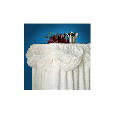(SKU: SKDW) Lace Table Skirting - With Valance