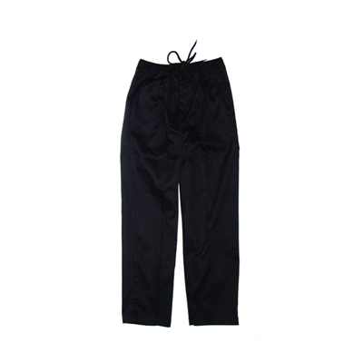 "(SKU: 1503XL) **CLEARANCE**Polyester/Cotton ""3 IN 1"" Pants Black szXL"