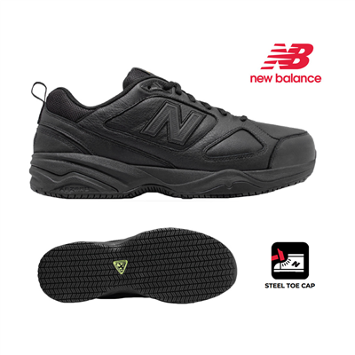 (SKU: MID627U2) New Balance 627 Mens Safety Toe Industrial Shoe