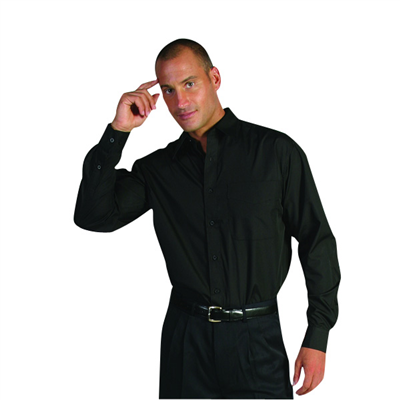 (SKU: 4132XL) **CLEARANCE** Polyester/Cotton Business Shirt - Long Sleeve szXL