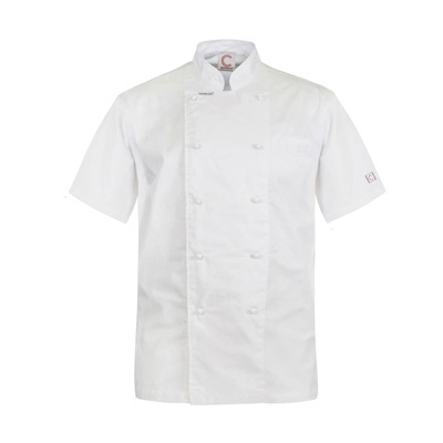 (SKU: CJ049) Executive Chefs Lightweight Jacket- Short Sleeve