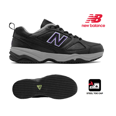 (SKU: WID627U2) New Balance 627 Womens Safety Toe Industrial Shoe