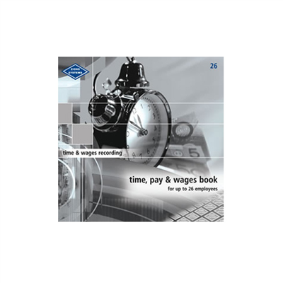 (SKU: 26) Time, Pay & Wages Book