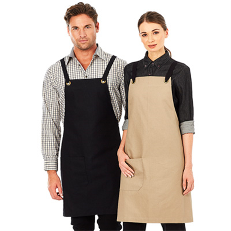 Canvas Bib Apron - Brooklyn Apron